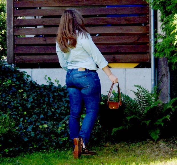 When Anna Denim all Over Longchamp Tasche Ralph Lauren Bluse Esprit Jeans Timberland Schuhe 2