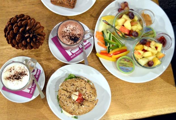 Blogger Breakfast Bagel