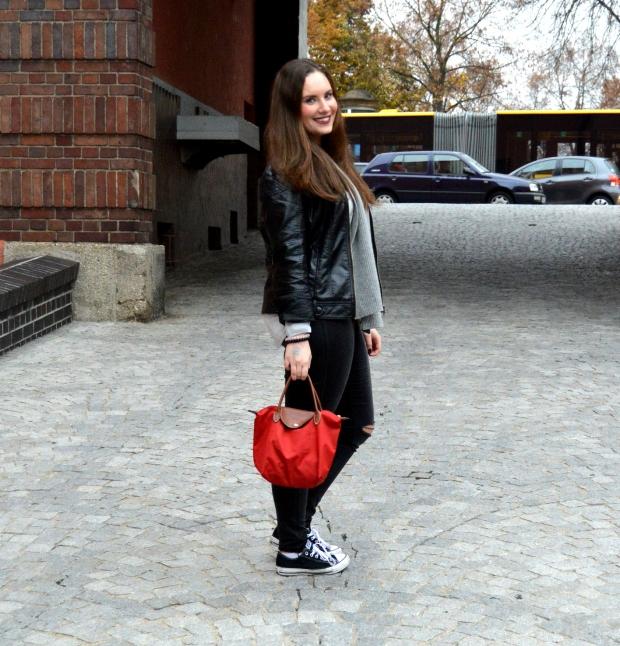 Outfit Lederjacke Pulli Chucks8#
