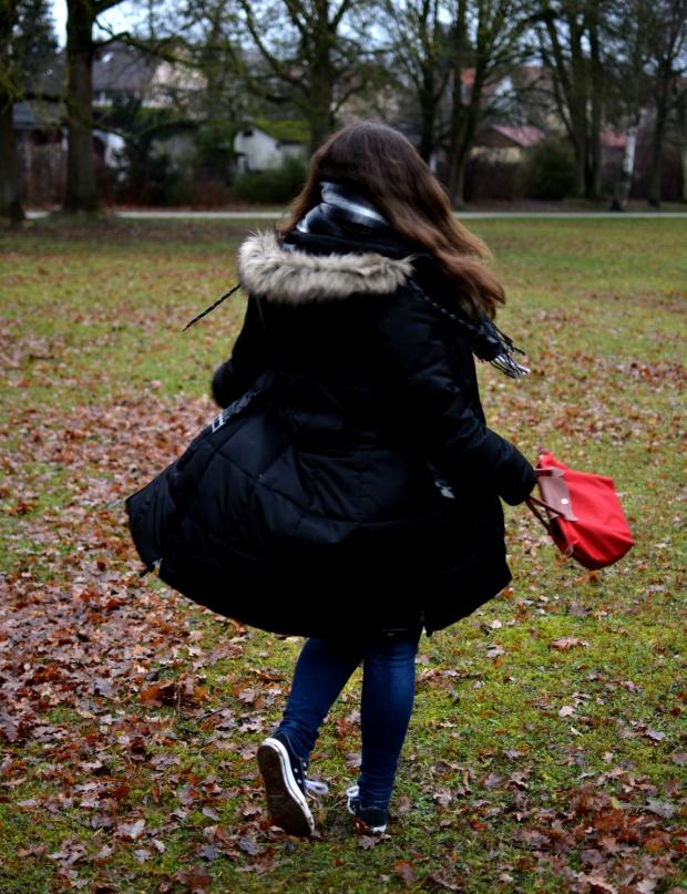 Outfit Park Winter Drehung