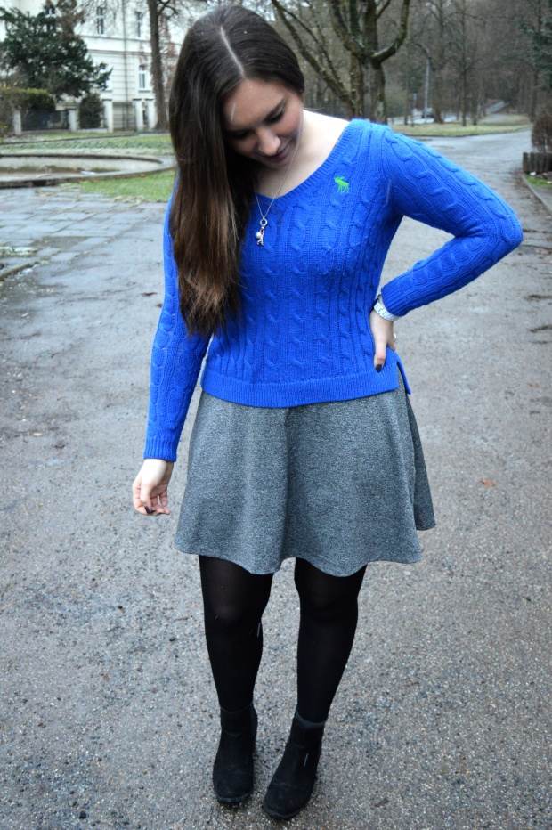 Kleid mit Pulli 2
