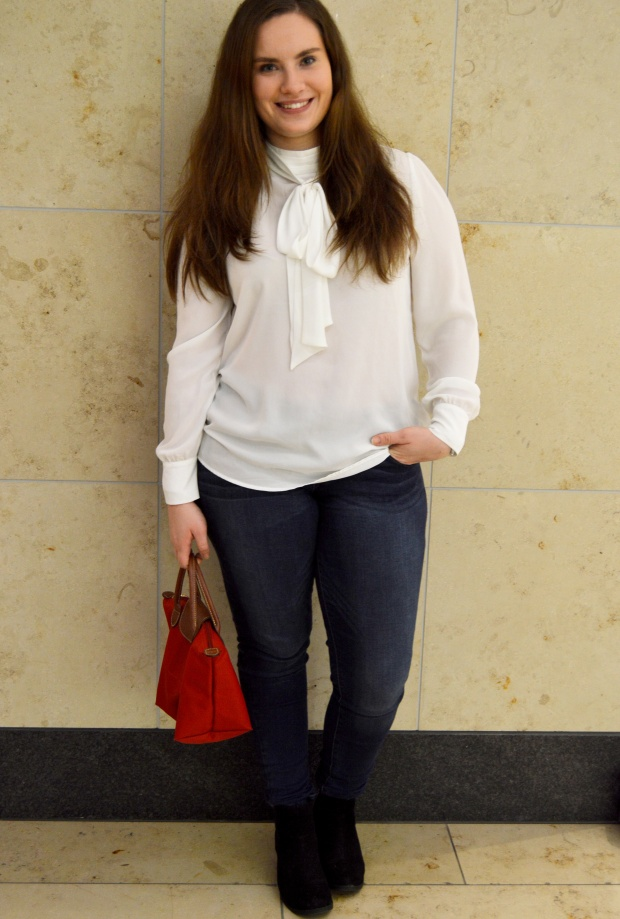 Outfit Schluppenbluse 7