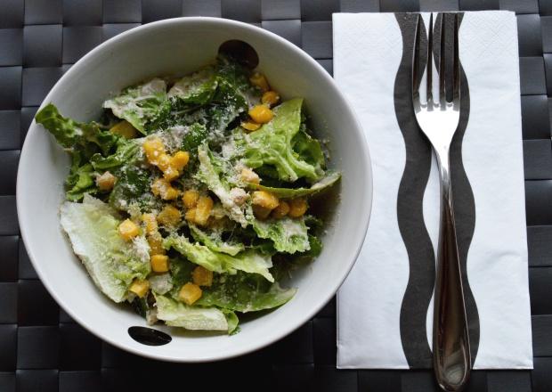 Salat mit Mais und Parmesan 2