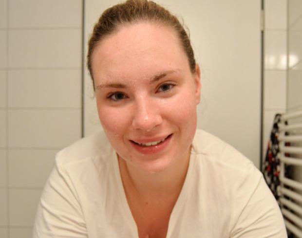 Gesichtspflegeroutine 3
