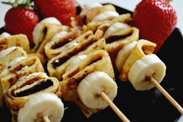 Nutella Bananen Pancakes 2