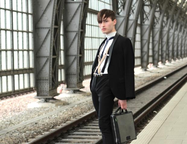 Das Hosenträger Outfit Fashion Blog Männer Männermode Fashionblogger Mister Matthew Outfit für Fashion Show in Leipzig